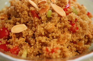 quinoa-almonds