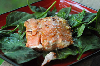 bbq-salmon-spinach