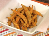 Chili-Crusted Sweet Potato Fries